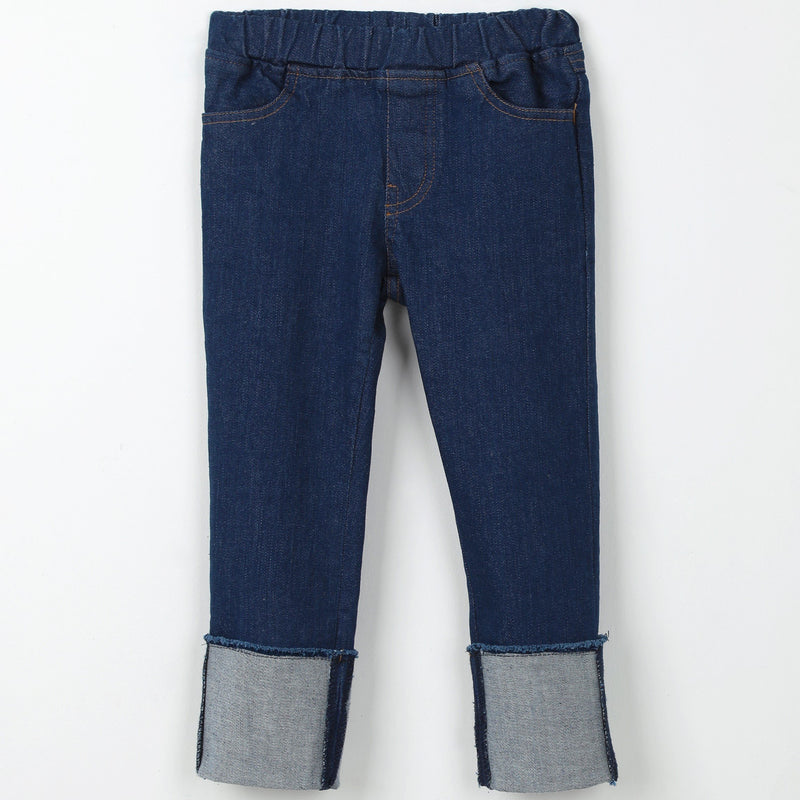 Denim navy blue jeans pants