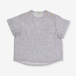 A grey stripes shirt