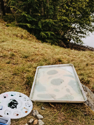 odette on the road cards | megunticook lake, camden, maine