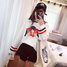 Load image into Gallery viewer, Harajuku Ulzzang Cartoon Sweatshirt
