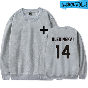 TXT Turtleneck Bias Sweatshirt