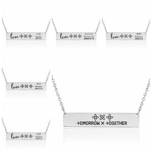 TXT Bias Necklace