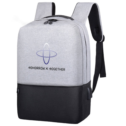 TXT Anti-Theft USB Charging Backpack