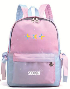 TXT Powder blue backpack