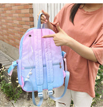 Load image into Gallery viewer, TXT Powder blue backpack