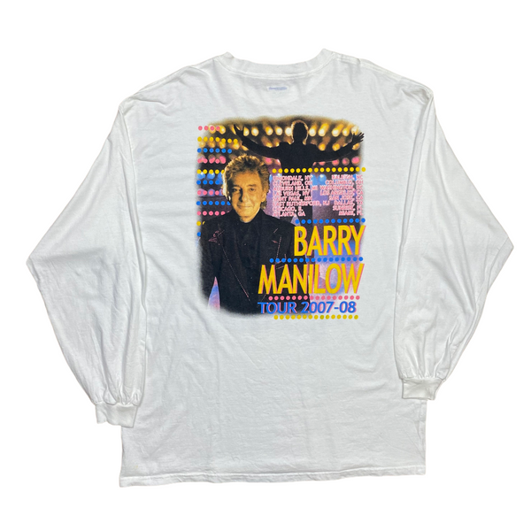 Vintage 2007-2008 Barry Manilow Longsleeve Tour Tee (XL)