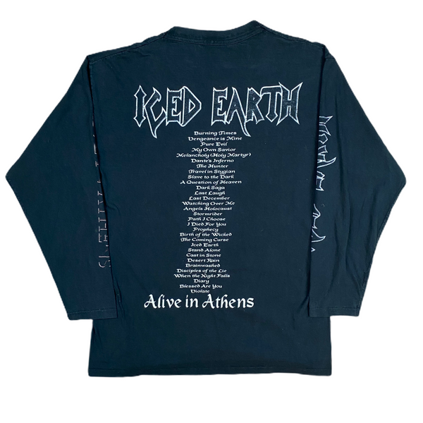 Vintage 1999 Iced Earth Longsleeve Tee (XL)