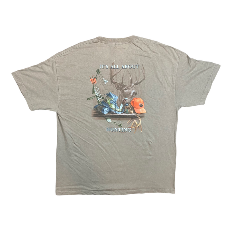 Vintage All About Hunting Tee (XL)
