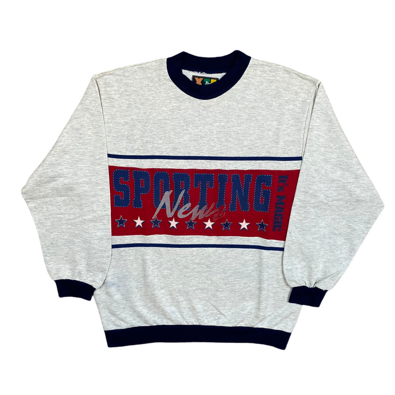 Vintage Sporting News Sweatshirt (L)