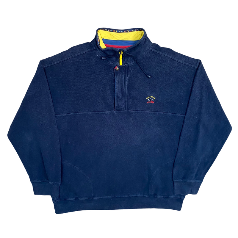 Vintage Paul & Shark 1/4 Zip Jumper (XXL)