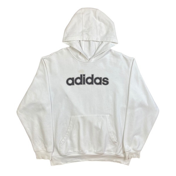 Vintage Adidas Spell Out Hoodie (L)
