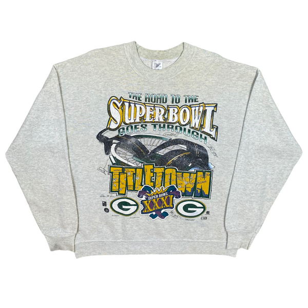 Vintage 1996 Super Bowl Giants Sweatshirt (L)