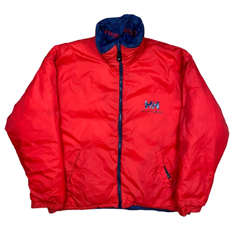 Vintage Helly Hansen Reversible Puffer Jacket (XL)