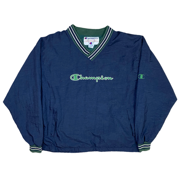 Vintage Champion Track Pull Over (XL)