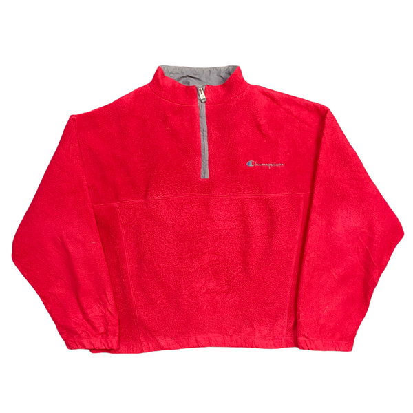 Vintage Champion 1/4 Zip Fleece (L)