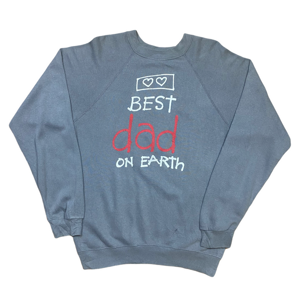 Vintage 80s Best Dad Sweatshirt (M)