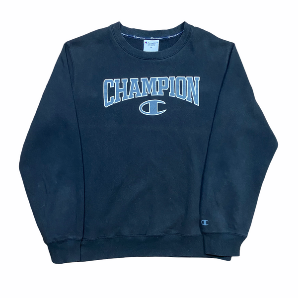 Vintage Champion Spell Out Sweatshirt (XXL)