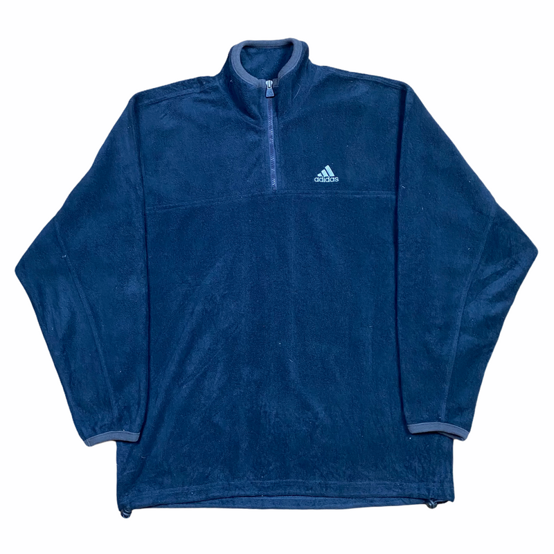 Vintage Adidas 1/4 Zip Fleece (L)