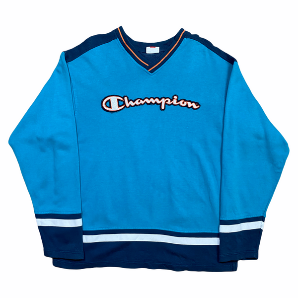 Vintage Champion Spell Out Sweatshirt (M)