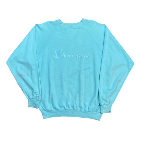 Vintage Champion Spell Out Sweatshirt (L)