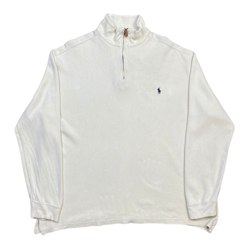 Vintage Ralph Lauren 1/4 Zip Knit (XL)