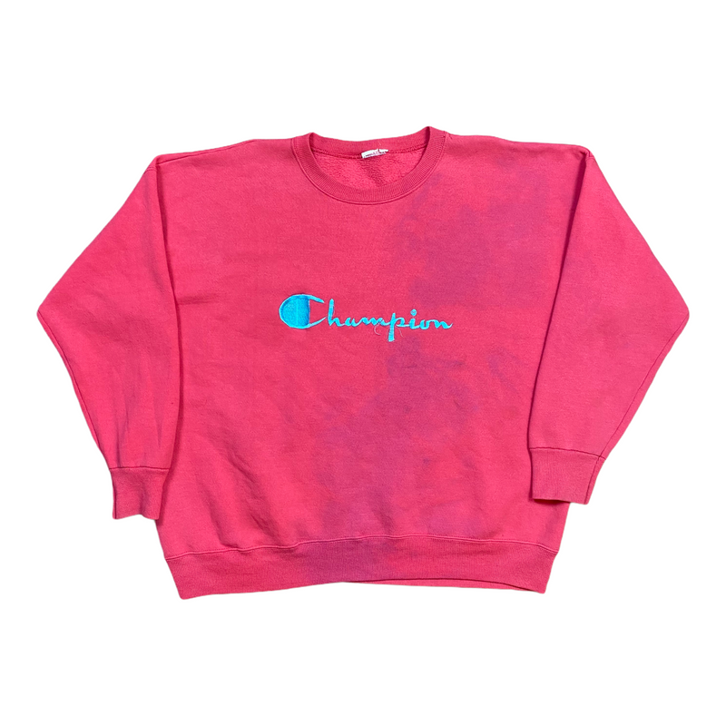 Vintage Champion Spell Out Sweatshirt (XL)