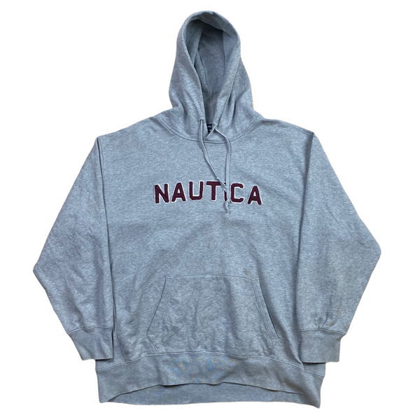 Vintage Nautica Spell Out Hoodie (XXL)