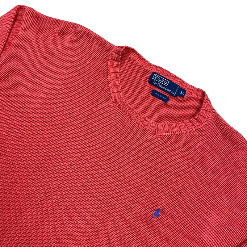 Vintage Ralph Lauren Knitted Sweatshirt (XL)