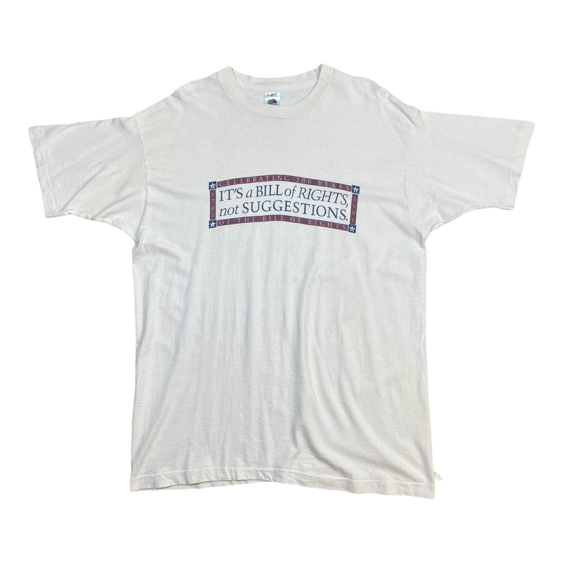 Vintage Bill of Rights Tee (XL)