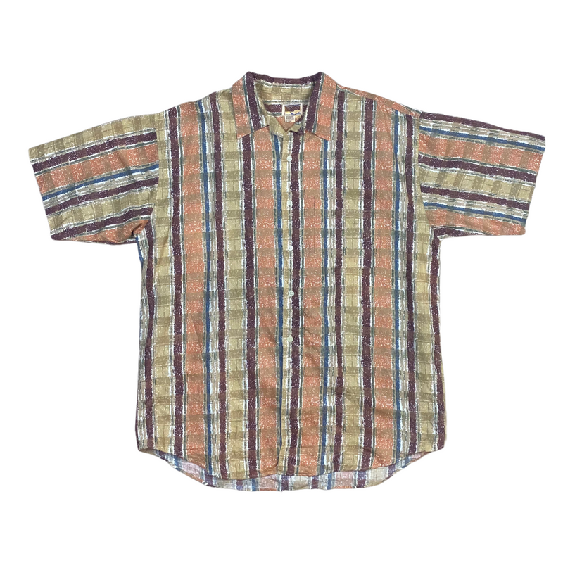 Vintage Aztec Pattern Shirt (XL)