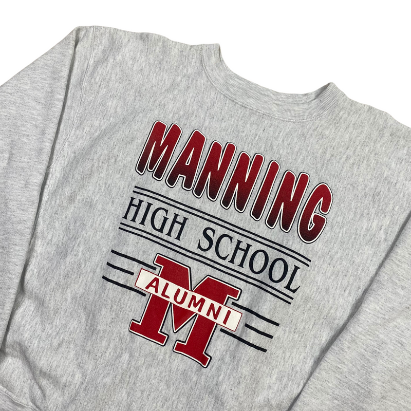 Vintage Manning High School Sweatshirt (XL)