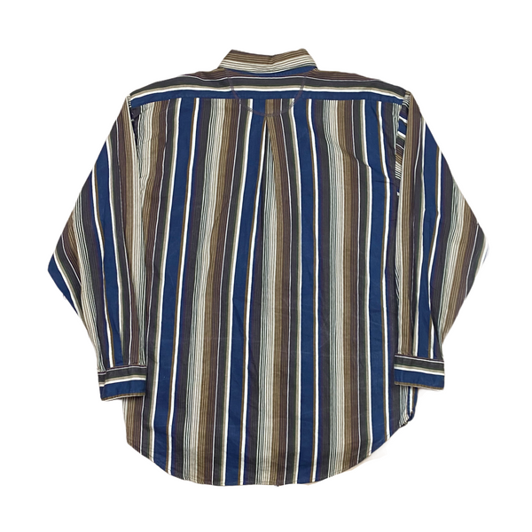 Vintage Striped Shirt (XL)
