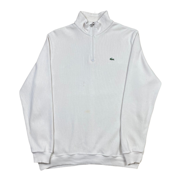 Vintage Lacoste 1/4 Zip Knit (XL)