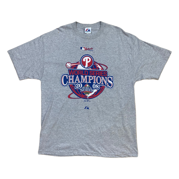 2008 Phillies World Series Champions Tee (XL)