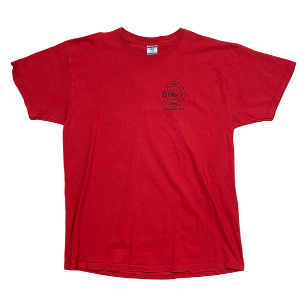 2009 New Athens Fire Dept Poker Tournament Tee (L)