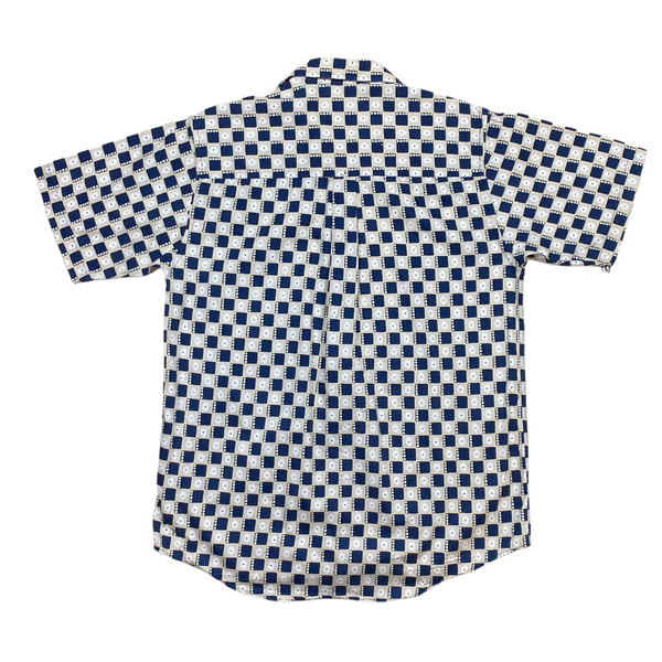 Vintage Checkered Shirt (M)