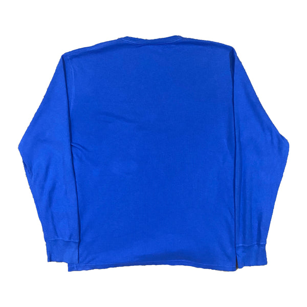 Vintage Ralph Lauren Blue Jumper (XL)