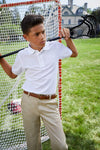 French Toast Boys 2T-4T Short Sleeve Pique Polo