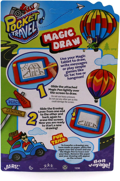 Ja-Ru Travel Magnetic Magic Draw