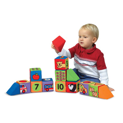 Melissa and Doug K's Kids Match and Build Blocks