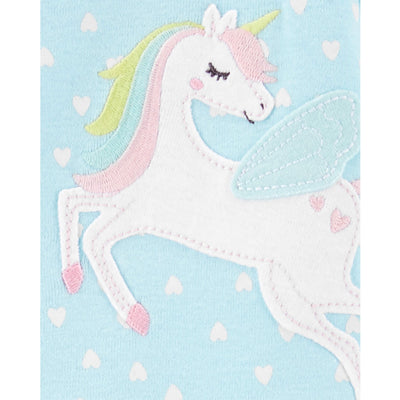 Carters Girls 2T-5T Unicorn Cotton Sleeper
