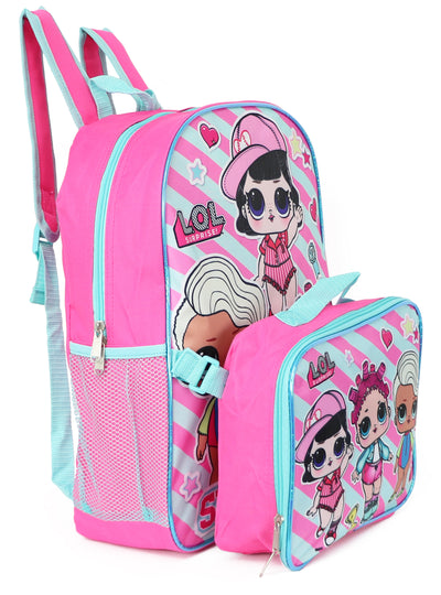 L.O.L. Surprise Backpack Lunchbox Set