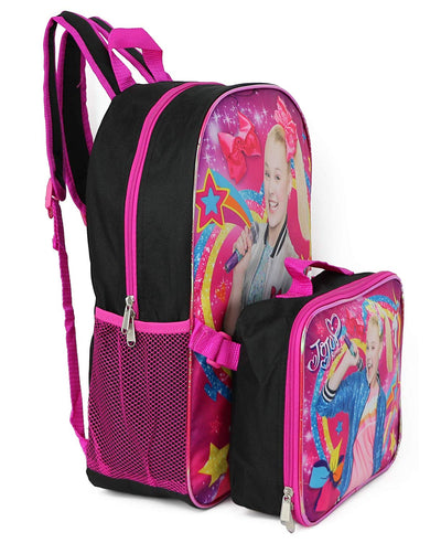 Nickelodeon Jojo Siwa Backpack Lunchbag Set