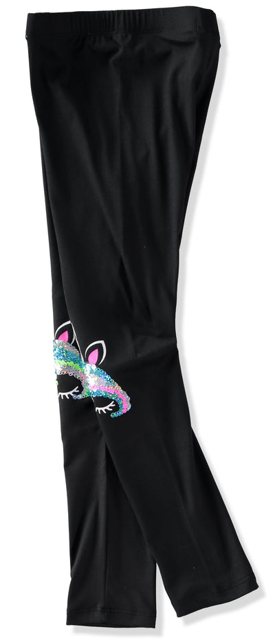 Dreamstar Girls 4-6X Flip Sequin Capri Legging