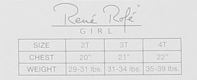 Rene Rofe Girls 2T-4T 2-Pack Pointelle Camisoles