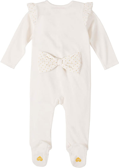 Juicy Couture Girls 0-9 Months Bow Velour Sleep and Play