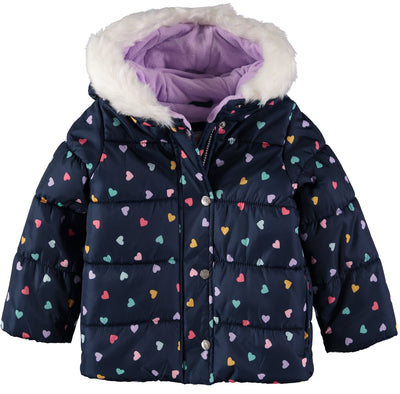 Carters Girls 2T-4T 2-Piece Snowsuit