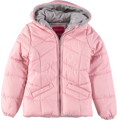 London Fog Girls 7-16 Bubble Jacket with Hat