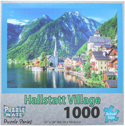 Wisconsin Toy Co. Puzzle Mate 1000 Piece 27'' x 20'' Jigsaw Puzzle