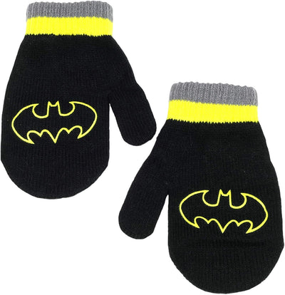 DC Boys 2-4T Batman Pom Hat Mitten Set